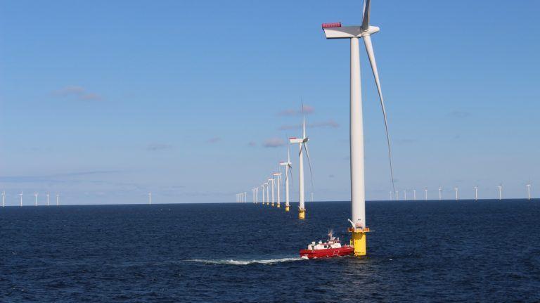 """Projekt """"Farmy wiatrowe na morzu"""""""